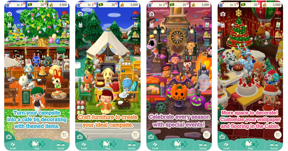 Download Animal Crossing Pocket Camp 1